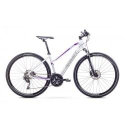 Rower Romet  Orkan 5 D Biało-Fioletowy 19 L