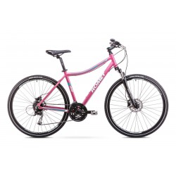 Rower Romet  Orkan 3 D Różowy 19 L