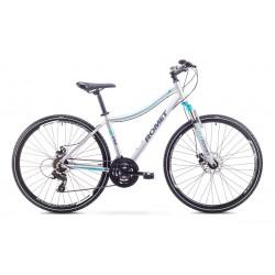 Rower Romet  Orkan 1 D Szarno-Niebieski 19 L