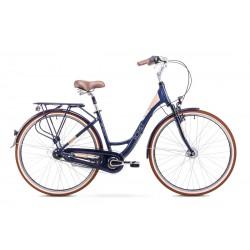 Rower Romet Art Deco 7 Granatowy 19 L