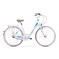 Rower Romet Moderne 7 Biały 19 L