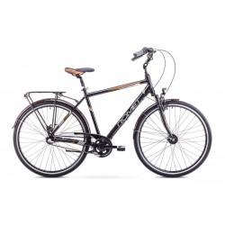 Rower Romet  Art Noveau 3 Czarno-Pomarańczowy 19 M