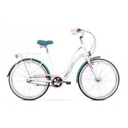 Rower Romet Pop Art Biały 17 M