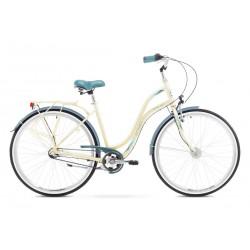 Rower Romet Pop Art Beżowy 19 L