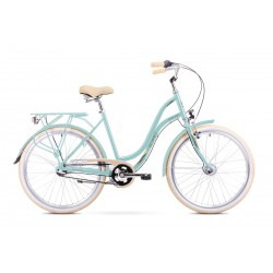 Rower Romet Pop Art Miętowy 19 L