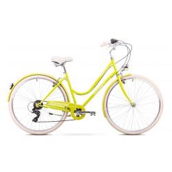 Rower Romet Vintage D Limonkowy 18 M