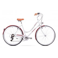 Rower Romet Vintage D Biały 18 M