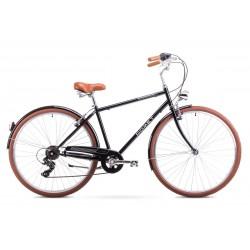 Rower Romet Vintage M Czarny 18 L