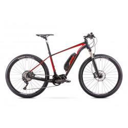 Rower ROMET ELEKTRYCZNY ROMET  ERM 201 czarno-czerwony 18 L
