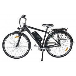 Rower Miejski Elektryczny Prime 26 cali Czarny