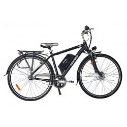 Rower Miejski Elektryczny Prime 28 cali Czarny